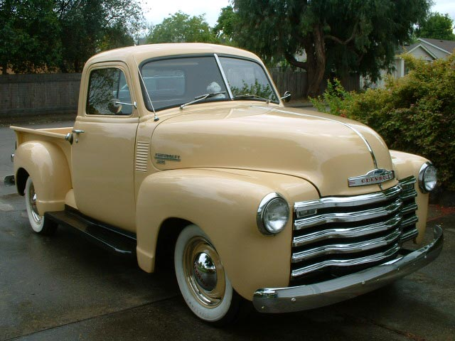 This is a very nice looking 1951 Chevy Truck for sale.