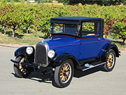 1928 Willy's Overland Whippet 96a 3 Window Coupe