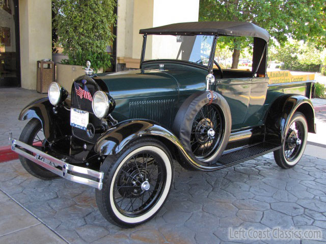 Restored 1929 Ford Model A Pickup for Sale