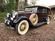 1929 Lincoln Model L Sport Touring