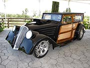 1934 Willys Woody Wagon Drag Car