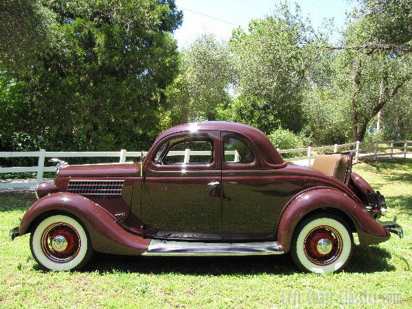 1935 Ford Deluxe 5-Window Coupe Body Gallery