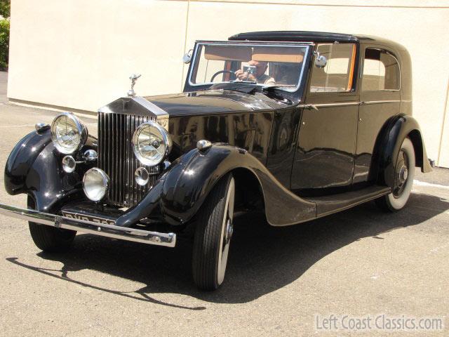 1937 Rolls-Royce Sedanca deVille for Sale