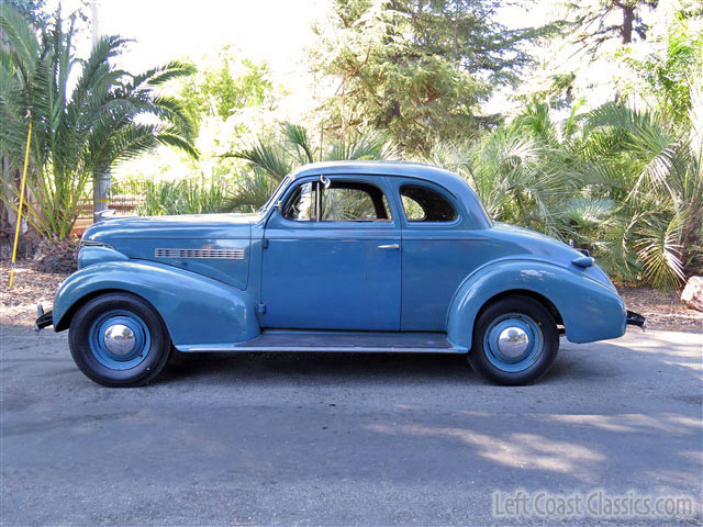 1939 Chevrolet Master Deluxe 5 Window Business Coupe For Sale