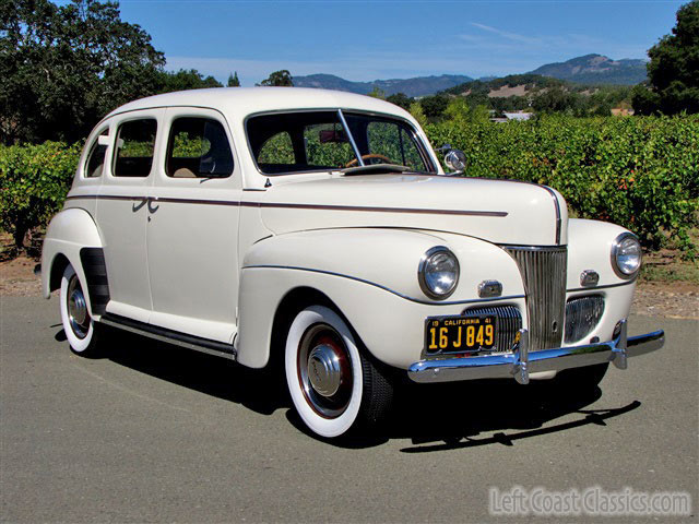 1941 ford deluxe sedan for sale restored california fordor for 1941 ford 4 door