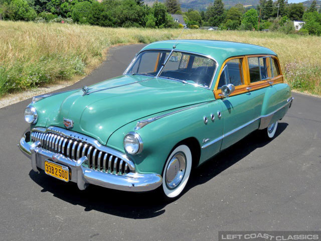 1949 Buick Woody 50 Super Estate Wagon For Sale