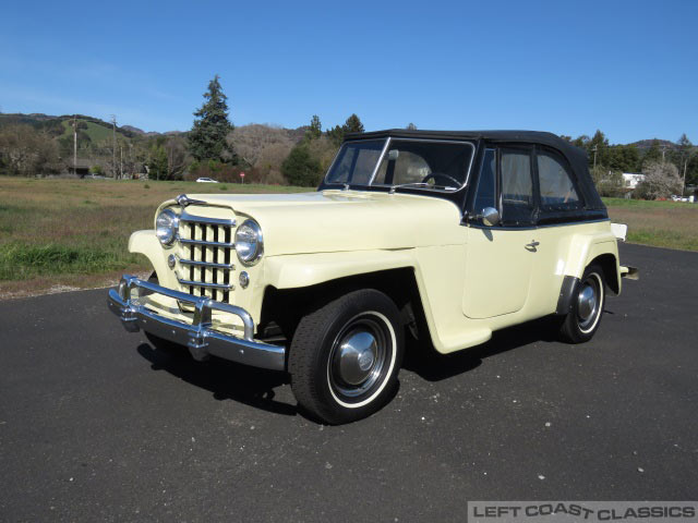 1950 Willys-Overland Jeepster VJ-3 Convertible for Sale