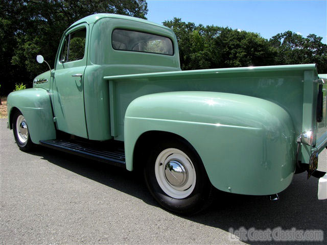 Ford F Pickup on 1951 F1 Ford Short Bed