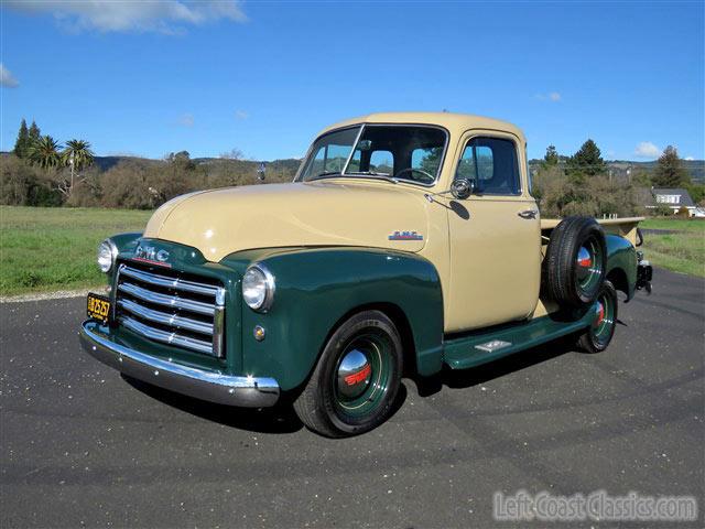 1951 gmc 1 2 ton pickup restomod for sale. Black Bedroom Furniture Sets. Home Design Ideas