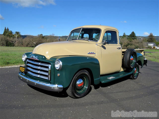 1951 gmc 1 2 ton pickup restomod for sale for 1951 gmc 5 window pickup