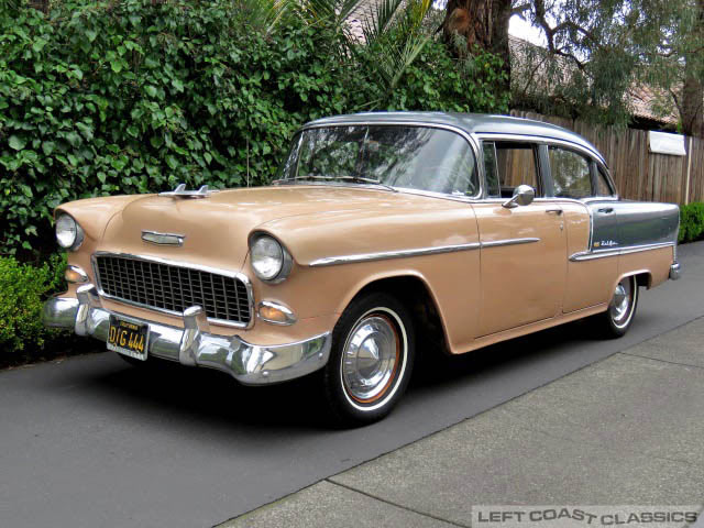1955 Chevrolet Belair Sedan For Sale
