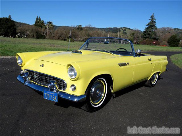 1955 Ford Thunderbird For