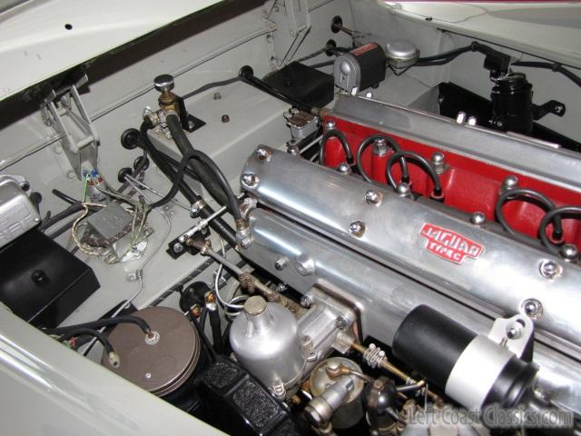 1956 Jaguar Xk140 Se Engine And Undercarriage Gallery 1956