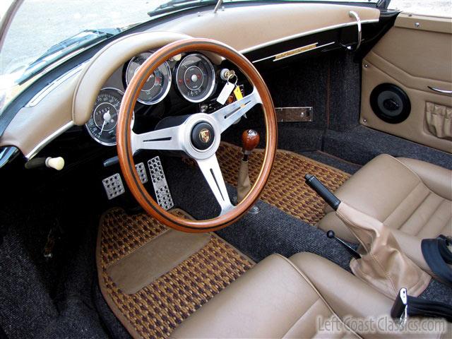 1956 Porsche Speedster Interior