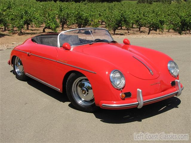 1956 Red Porsche Speedster Replica Photo Gallery 1956