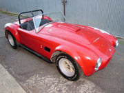 1957 AC Cobra Replica Project