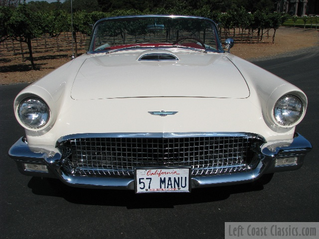 1957 tbird vin number
