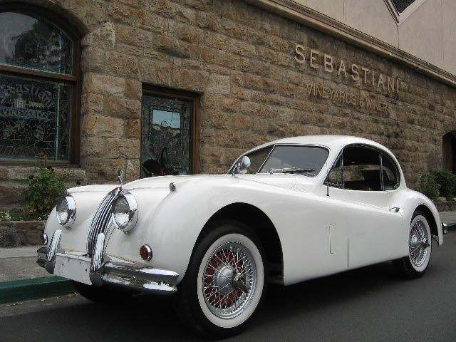 1957 Jaguar XK140 for Sale in Sonoma California