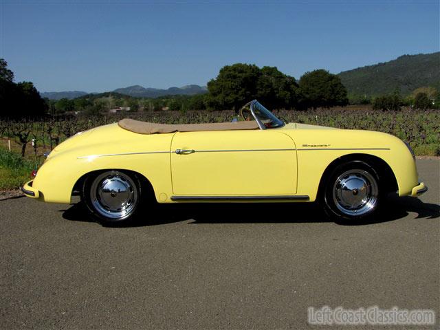 1957 Porsche Speedster 356 for Sale Built by Beck