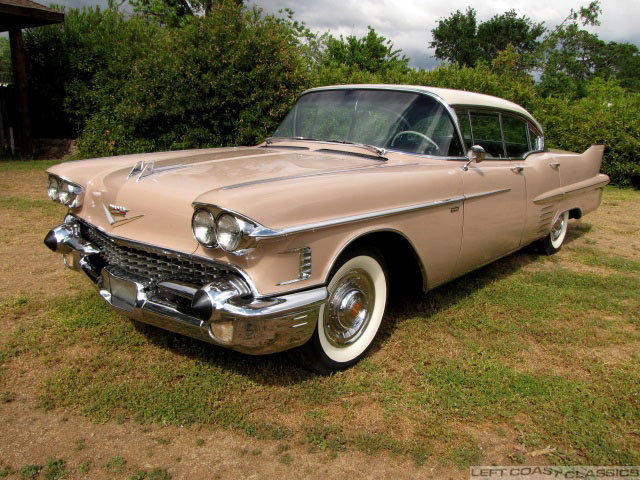 1958 Cadillac DeVille for Sale