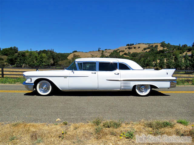Limousine For Sale >> 1958 Cadillac Series 75 Fleetwood Limousine For Sale