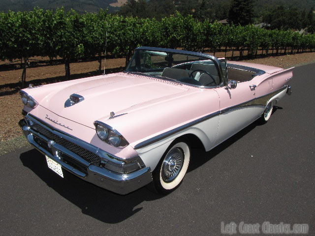 1958 Ford Fairlane Skyliner Convertible For In California