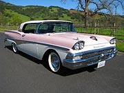 1958 Ford Fairlane Skyliner Convertible