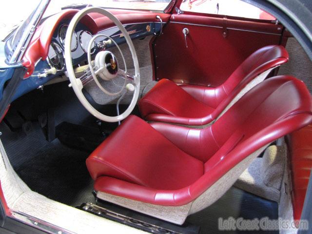 1958 Porsche 1600N Speedster Interior