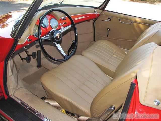 1960 porsche 356b 1600 roadster for sale. Black Bedroom Furniture Sets. Home Design Ideas