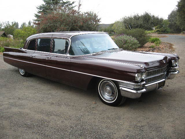 1963 cadillac fleetwood limousine for sale