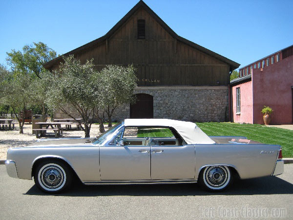 1963 Lincoln Continental Door Convertible for Sale