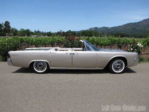 1963 Lincoln Continental Suicide Door Convertible For Sale