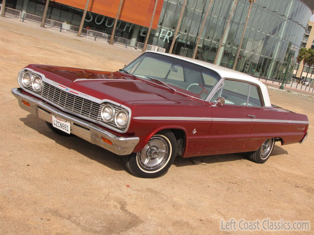1964 Chevrolet Impala SS | 64'- | Pinterest | Chevy, Auction and ...