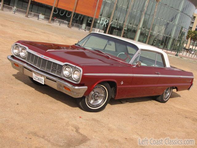 1964 chevrolet impala ss 409 for sale. Black Bedroom Furniture Sets. Home Design Ideas
