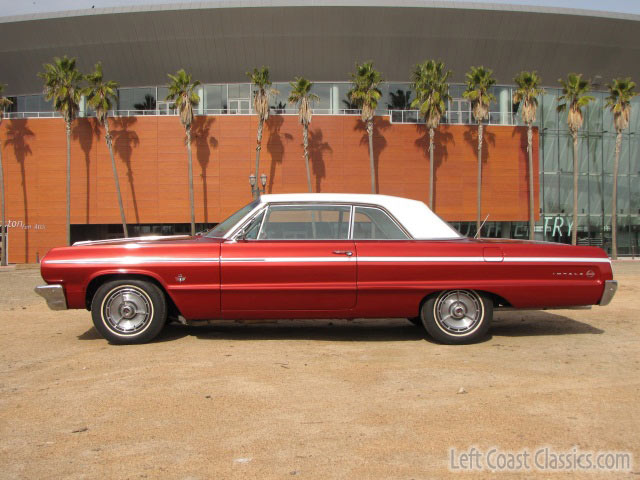 ago 472ci, power is the all that 64 Chevy Impala SS 409 restored