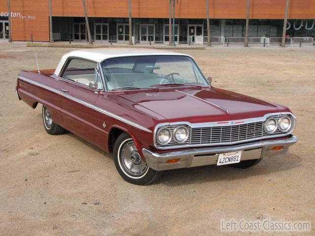 Marvelous 1964 Chevrolet Impala Ss 409 051