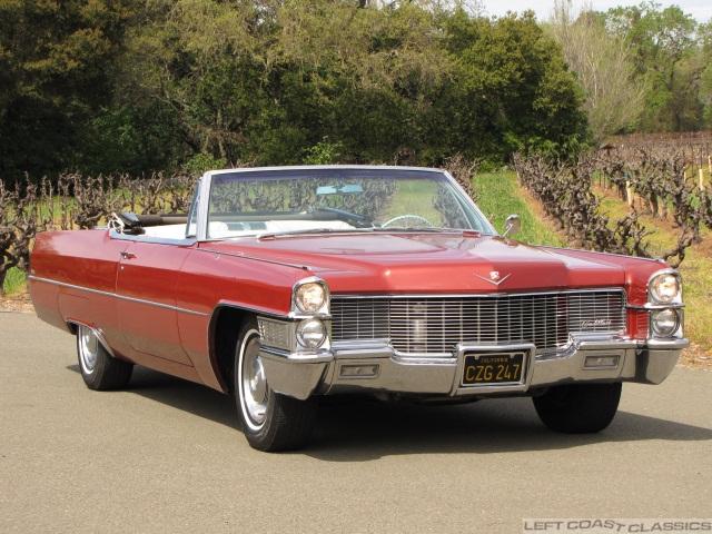 52 Cadillac Convertible 1965 Cadillac Deville Convertible