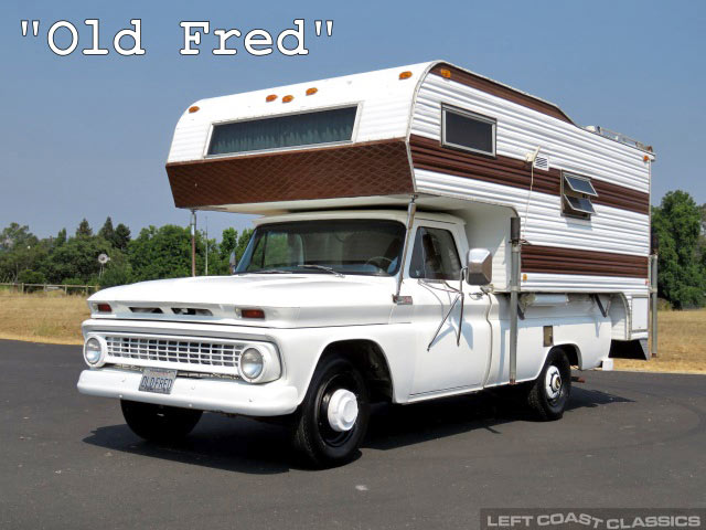1965 Chevrolet C20 Pickup Camper For Sale