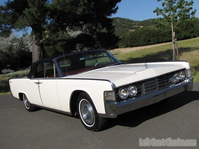 1965 Lincoln Continental Convertible Body Gallery 1965