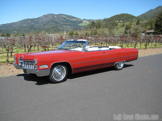 1966 Cadillac Convertible For Sale