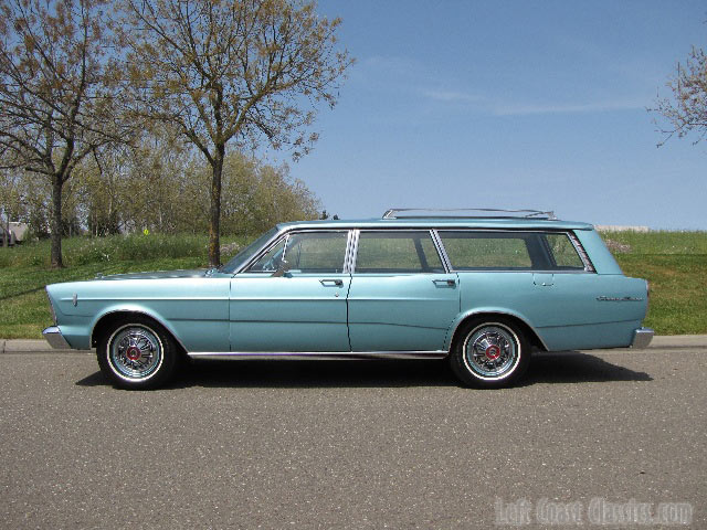 1966 Ford fairlane station wagon for sale