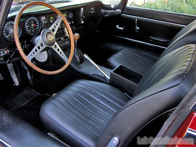 1966 Jaguar XKE Interior