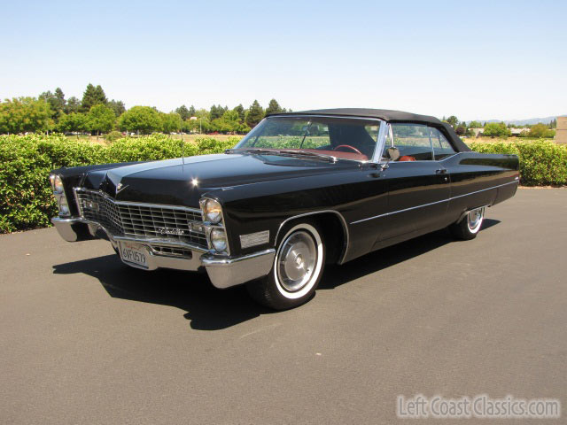 1967 cadillac deville convertible for sale. Black Bedroom Furniture Sets. Home Design Ideas