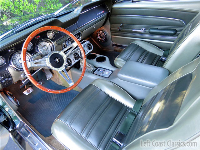 1967 ford mustang interior