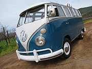 1967 Volkswagen 21-Window Walkthrough Sunroof Bus