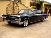 1968 Lincoln Lehmann Peterson Limousine