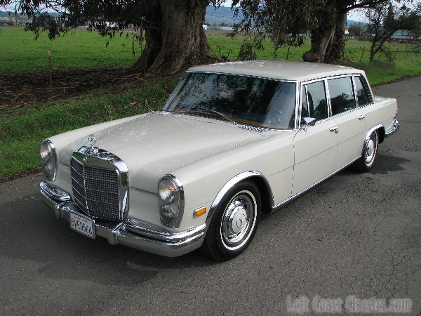 1968 mercedes benz grand 600 limousine for sale for Mercedes benz limo for sale