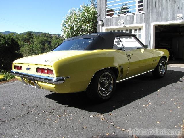 1969 Chevrolet Camaro Convertible Body Gallery 1969 Camaro
