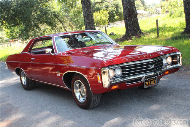 1969 Chevrolet Impala 427 SS for Sale