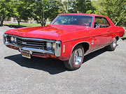1969 chevrolet impala ss for sale